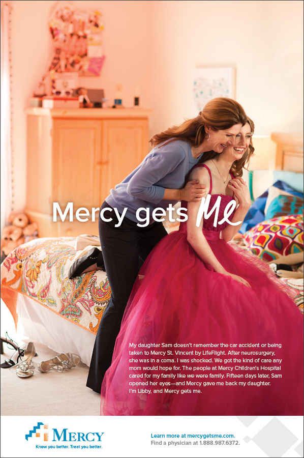 Mercy Gets Me | Print Ad –Libby