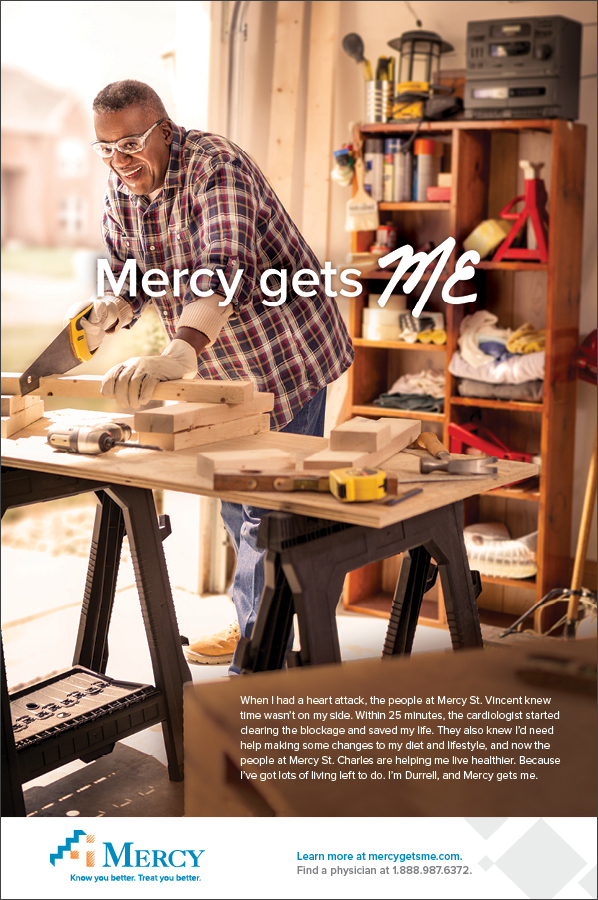Mercy Gets Me | Print Ad –Durrell