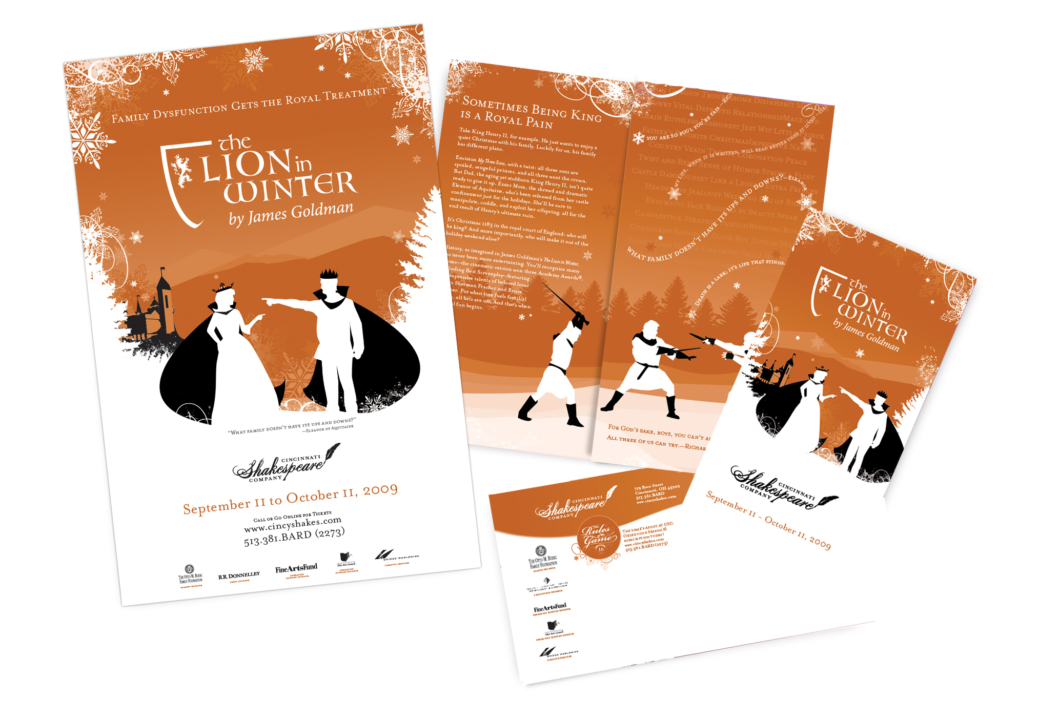 The Lion in Winter | Poster & Direct Mail