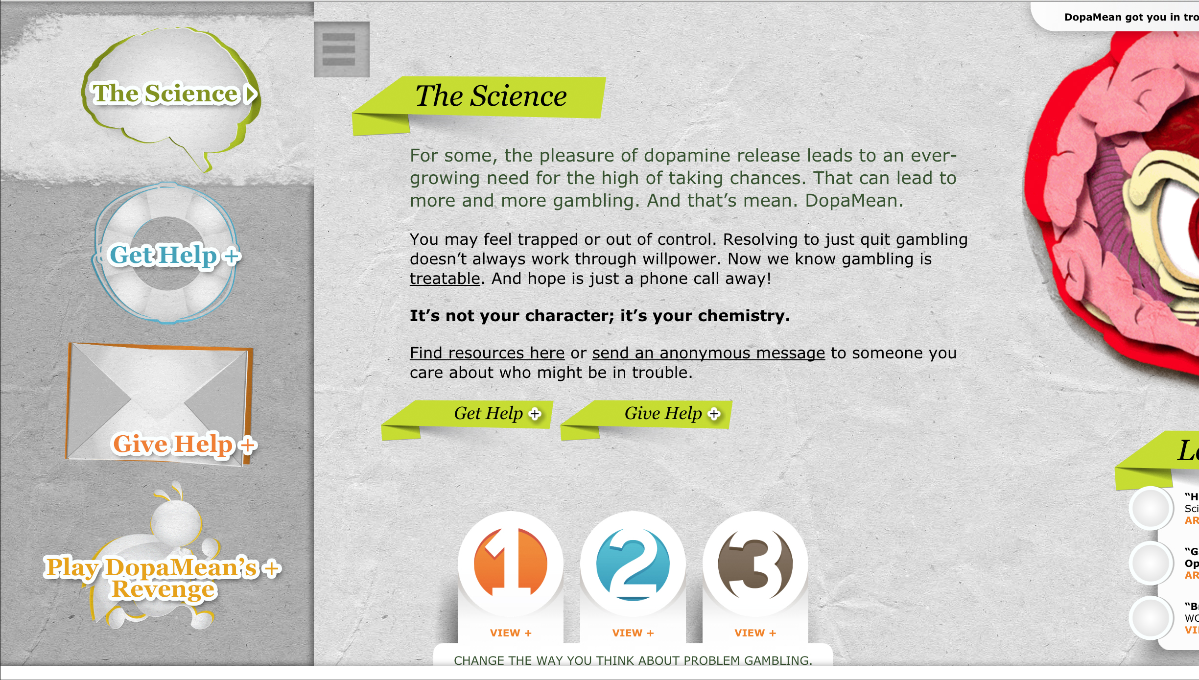 YourChemistry.org –Menu –The Science